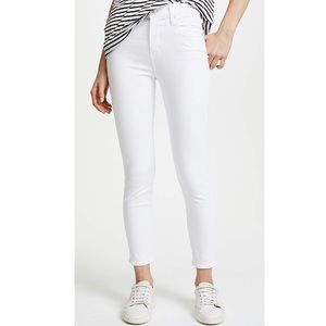 agolde // sophie high waist cropped skinny jeans
